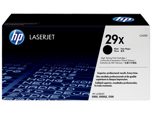 HP Black Toner Cartridge 29X