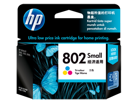 HP Ink Cartridge 802 Colour