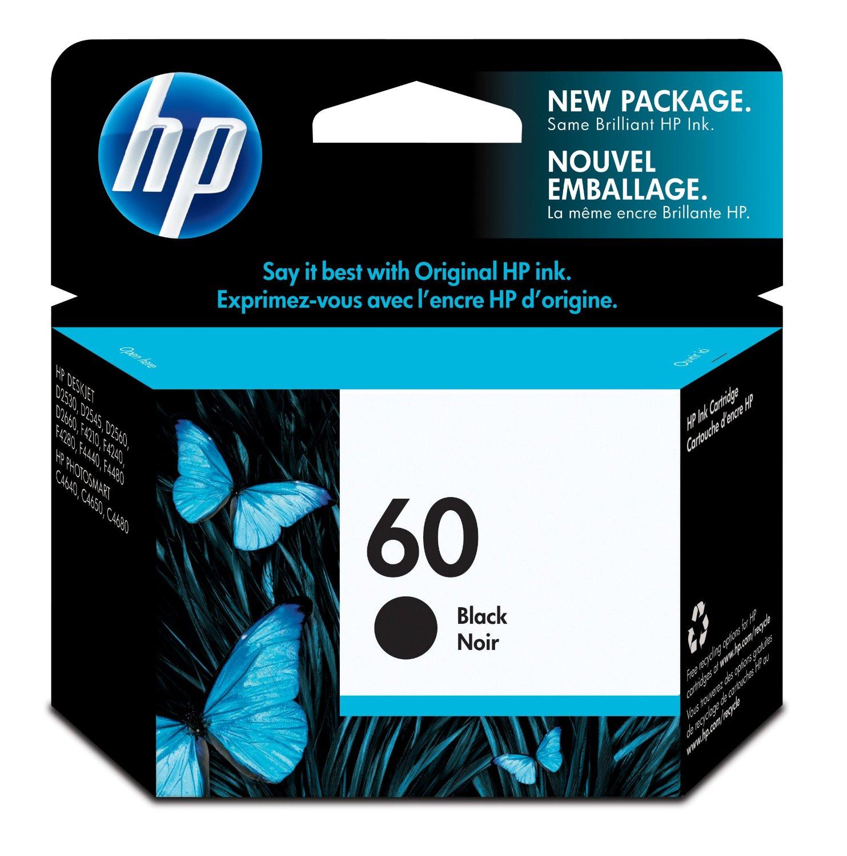 Jual HP Black Ink Cartridge 60 Harga Dan Spesifikasi