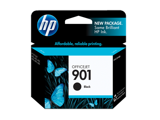 HP Black Ink Cartridge 901 [CC653AA]
