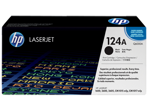 HP Black Toner 124A [Q6000A]