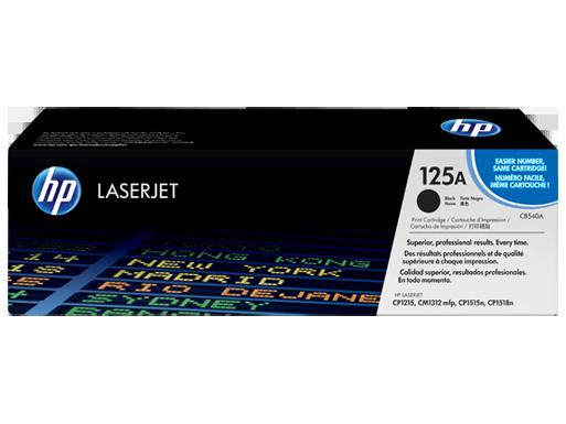HP Black Toner 125A [CB540A]