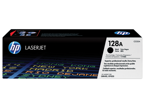 HP Black Toner 128A [CE320A]
