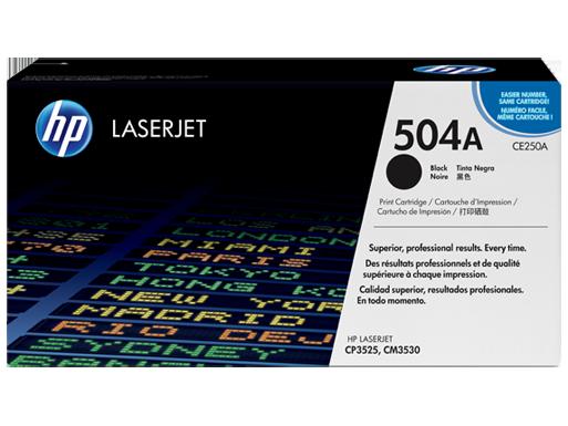 HP Black Toner [CE250A]