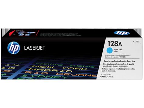 HP Cyan Toner 128A [CE321A]