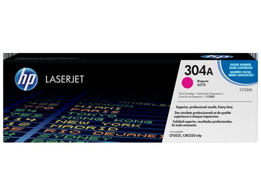 HP Magenta Toner 304A [CC533A]