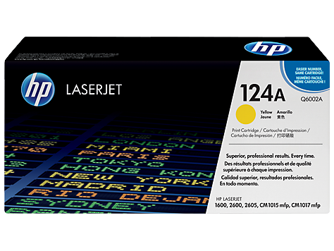 HP Yellow Toner 124A [Q6002A]