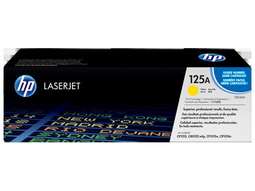 HP Yellow Toner 125A [CB542A]