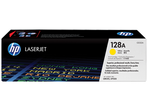 HP Yellow Toner 128A [CE322A]