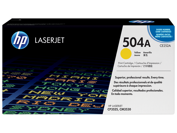 HP Yellow Toner [CE252A]