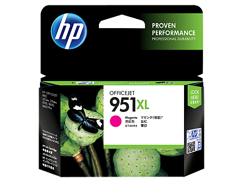HP Magenta Ink Cartridge 951XL [CN047AA]