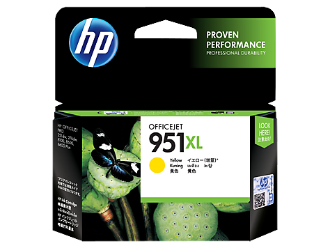 HP Yellow Ink Cartridge 951XL [CN048AA]