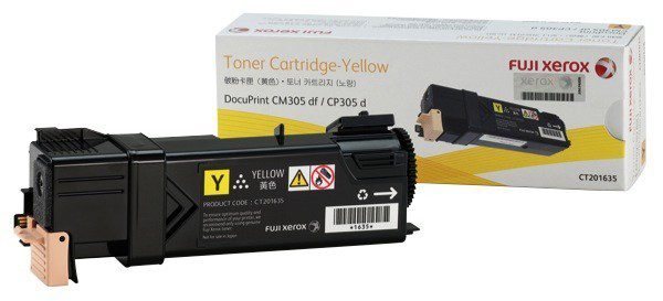 Fuji Xerox CM305df CP305d Yellow (CT201635)
