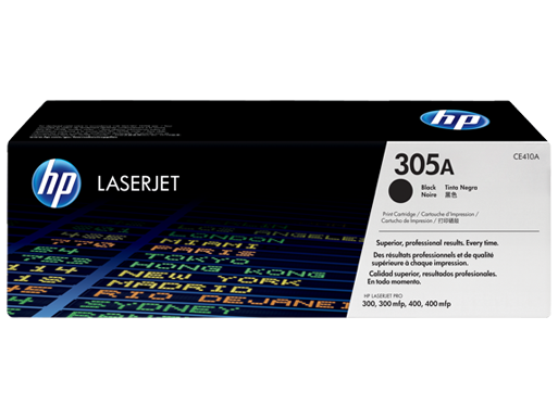 HP Black Toner 305A [CE410A]