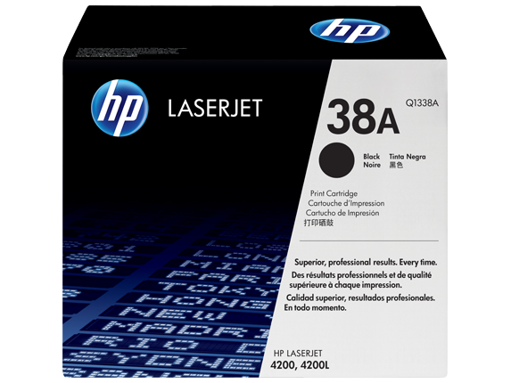 HP Black Toner 38A [Q1338A]