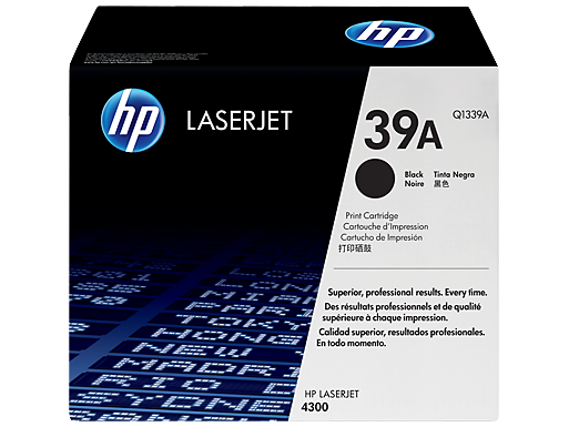 HP Black Toner 39A [Q1339A]