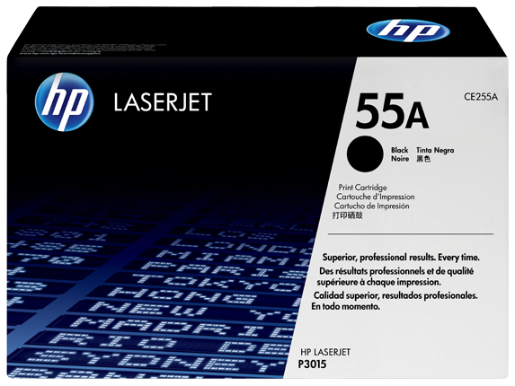 HP Black Toner 55A [CE255A]