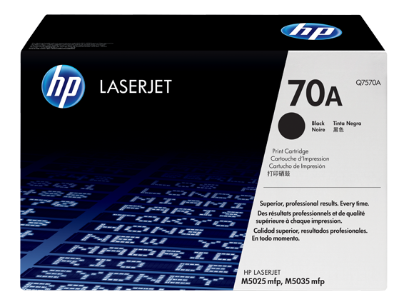 HP Black Toner 70A [Q7570A]