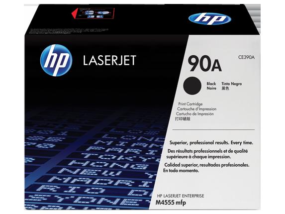 HP Black Toner Laserjet 90A CE390A