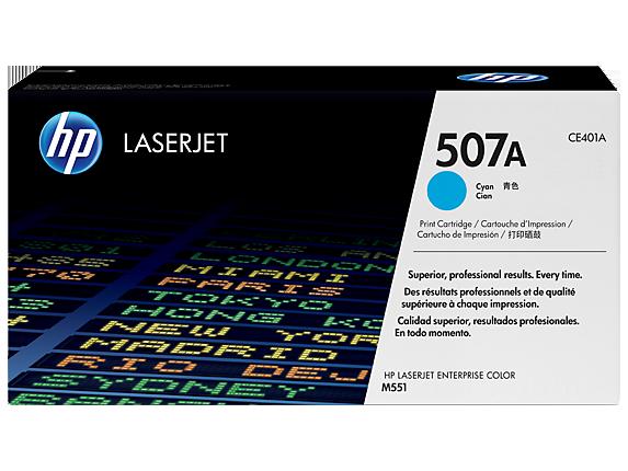HP Cyan Toner 507A [CE401A]