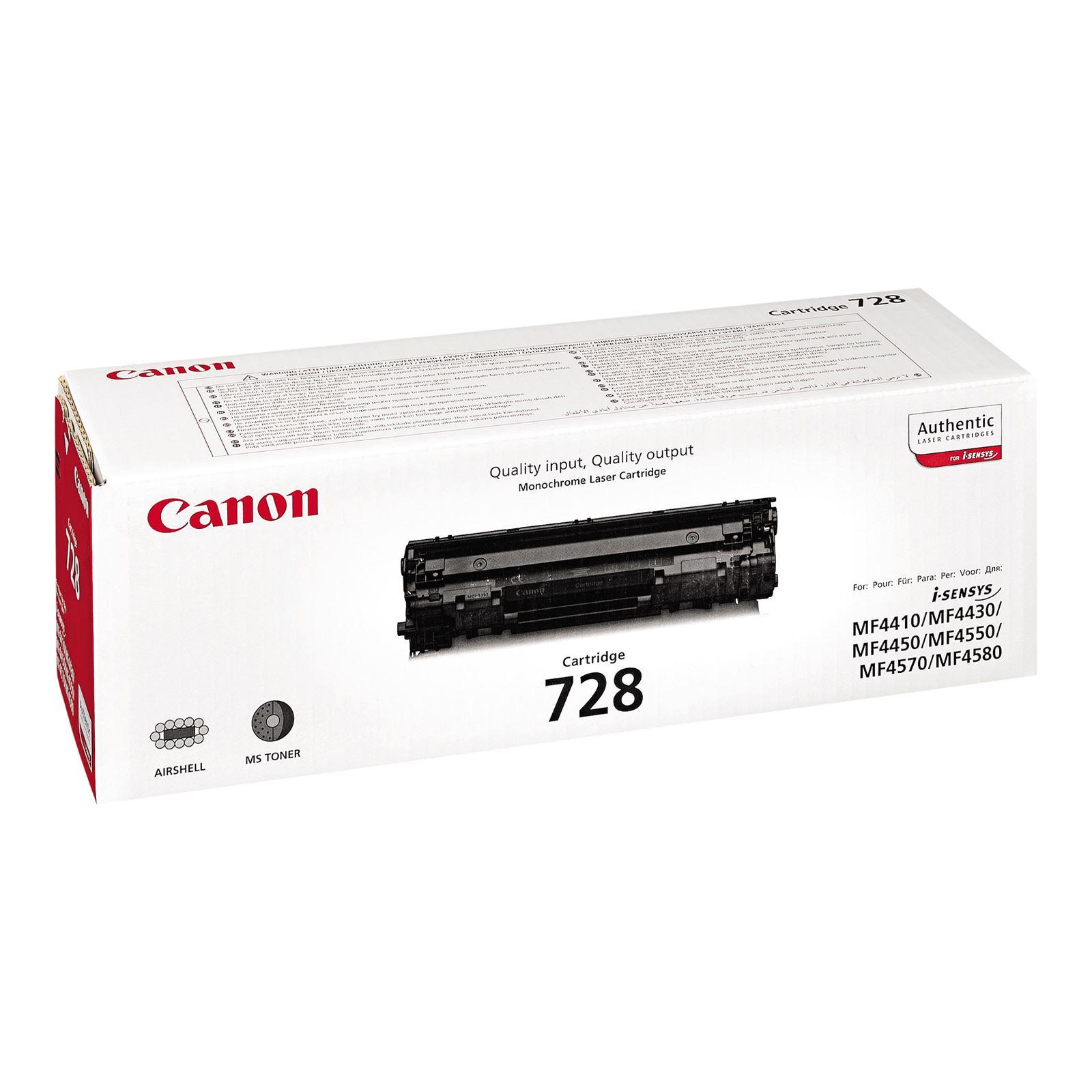 Canon 728 Toner Black