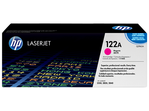 HP 122A Magenta Original LaserJet [Q3963A]