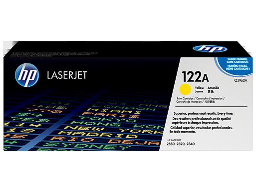 HP 122A Yellow Original LaserJet [Q3962A]