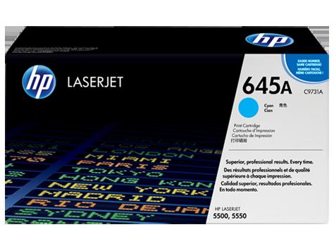 HP 645A Cyan Original LaserJet [C9731A]