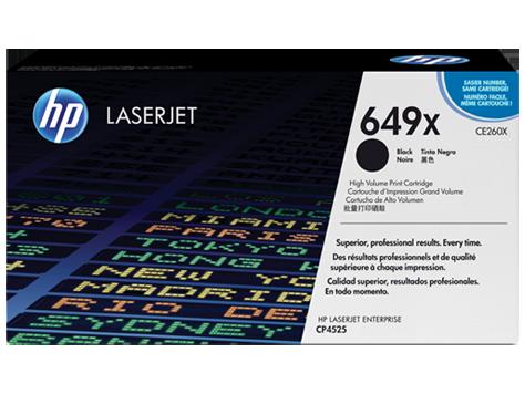 HP 649X Black Toner LaserJet [CE260X]