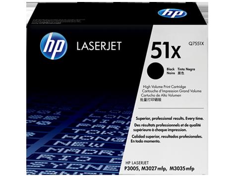 HP Black Toner LaserJet 51X [Q7551X]