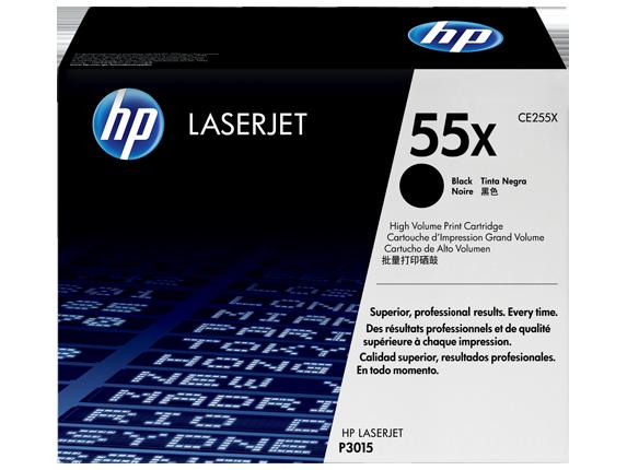 HP Black Toner LaserJet 55X [CE255X]