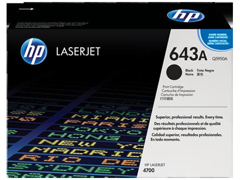 HP Black Toner LaserJet 643A [Q5950A]