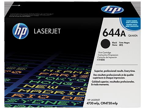 HP Black Toner LaserJet 644A [Q6460A]