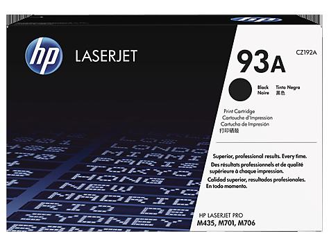HP Black Toner LaserJet 93A [CZ192A]