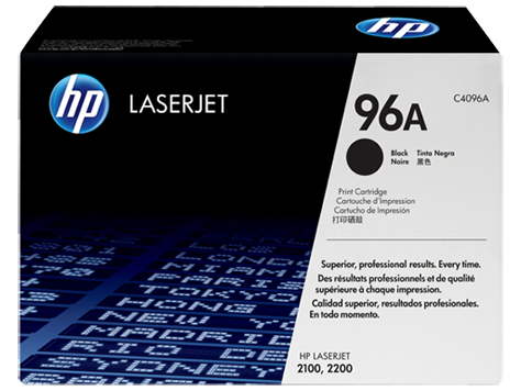 HP Black Toner LaserJet 96A [C4096A]