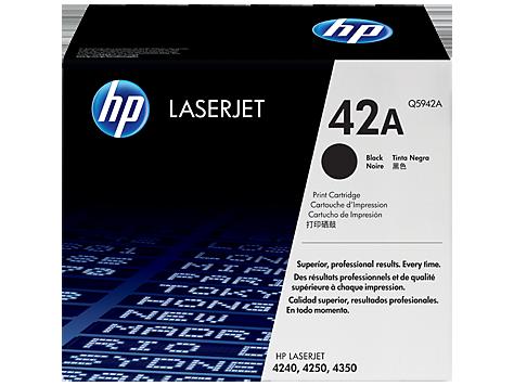 HP Black Toner Laserjet 42A [Q5942A]