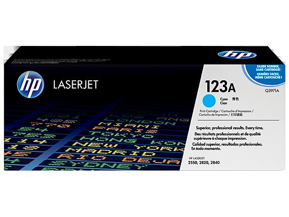 HP Cyan Toner LaserJet 123A [Q3971A]