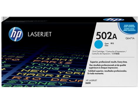HP Cyan Toner LaserJet 502A [Q6471A]