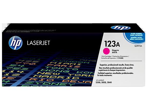 HP Magenta Toner LaserJet 123A [Q3973A]