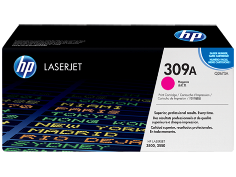 HP Magenta Toner LaserJet 309A [Q2673A]