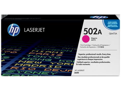 HP Magenta Toner LaserJet 502A [Q6473A]