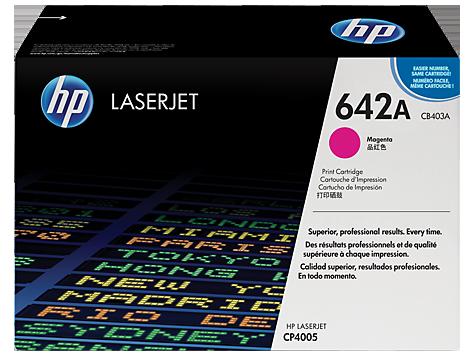 HP Magenta Toner LaserJet 642A [CB403A]