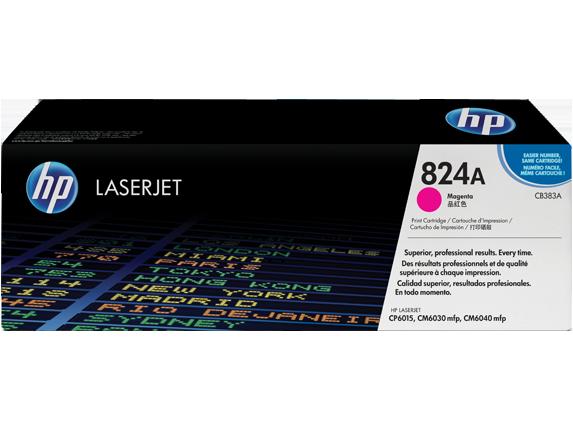 HP Magenta Toner LaserJet 824A [CB383A]