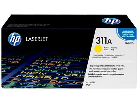 HP Yellow Toner LaserJet 311A [Q2682A]