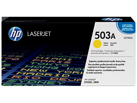 HP Yellow Toner LaserJet 503A [Q7582A]