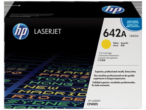 HP Yellow Toner LaserJet 642A [CB402A]