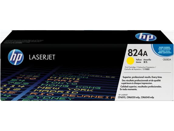 HP Yellow Toner LaserJet 824A [CB382A]