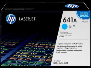HP Cyan Toner LaserJet 641A [C9721A]