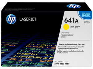 HP Yellow Toner LaserJet 641A [C9722A]